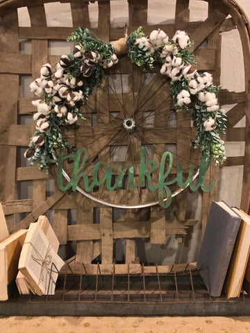 Farmhouse Spring Wreaths