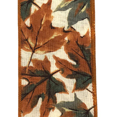 Fall Ribbon with leaves