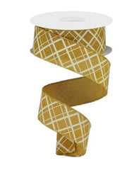 Mustard Yellow Ribbon
