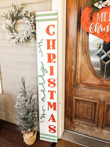3D Merry Christmas Porch Sign Kit - BLANK