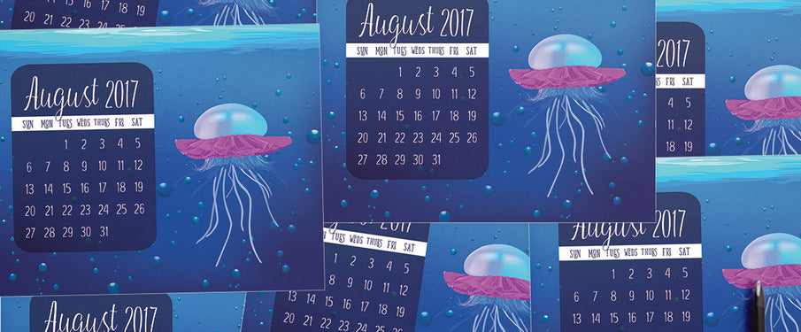 Calendar months & how they came to be: August 2017 Edition
