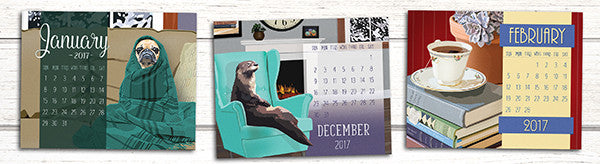 They're HEEERRREEE! 2017 Poster Calendars have hit our shelves!