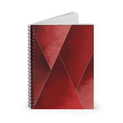 Crimson Tones Spiral Notebook