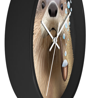 Bubble Pipe Otter Clock