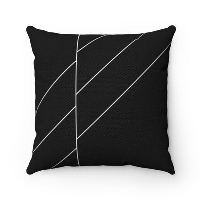 Black Space Throw Pillow