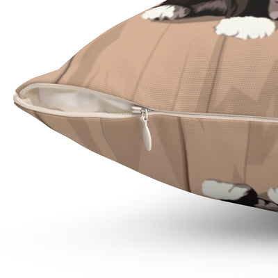 Cats: Tuxedo Cat Throw Pillow