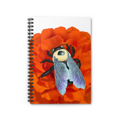 Bumblebee Spiral Notebook