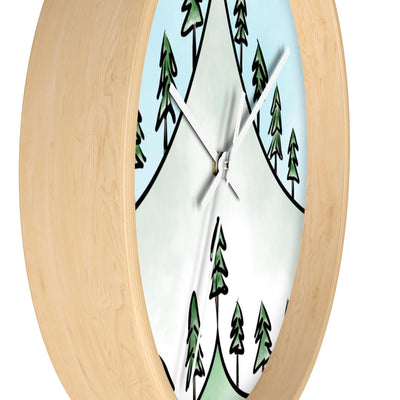 Summiting Wall Clock