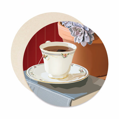 teacup coaster set