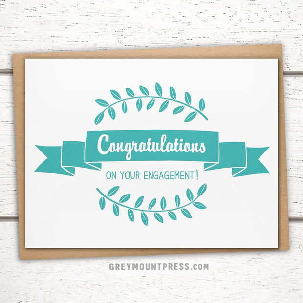 Congratulations on Your Engagement Card 1