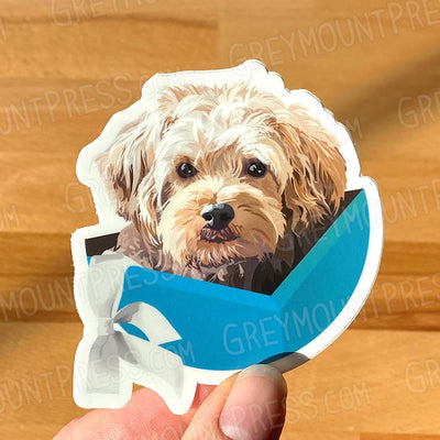 Dog: Cooper Sticker