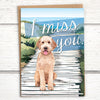 "I Miss You dog ""doodle"" greeting card - Greymount Paper & Press"