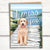 "I Miss You dog ""doodle"" greeting card"