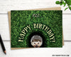 Hedgehog happy birthday card: hedgie in the hedge - Greymount Paper & Press
