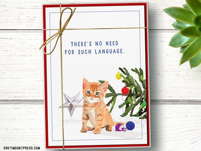 Funny Cat Holiday Cards
