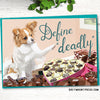 Funny papillon card for valentine's day
