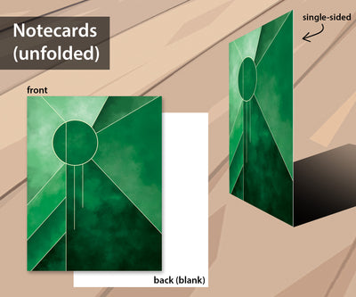 Luxury notecard set