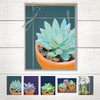 Succulent notecard set with envelopes
