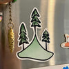 Summiting Magnet: Summiting refrigerator magnet