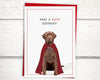 Dog birthday card for dog lovers