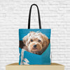 tote bag with dog design
