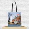 troy tote bag troy ny tote