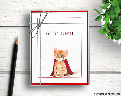 Cute thank you note cards.