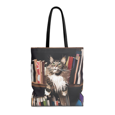tote bag with cat design