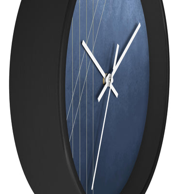 Moods in Blue-Gray Wall Clock