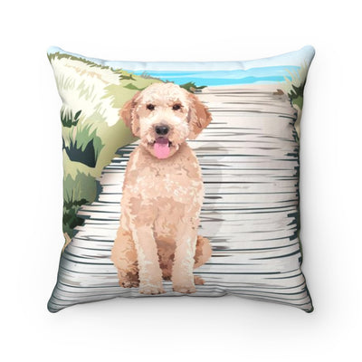 Doodle Throw Pillow :: Doodle on the Beach