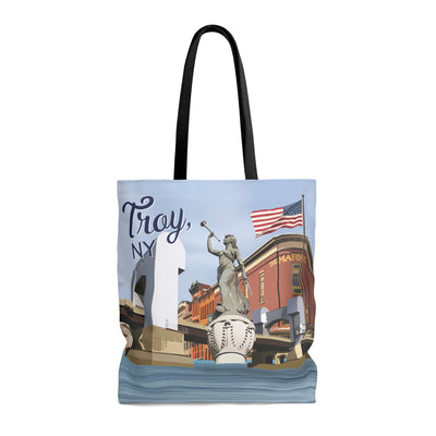 Troy Tote Bag -- City of Troy, NY