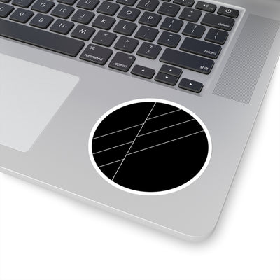 Black Space Sticker