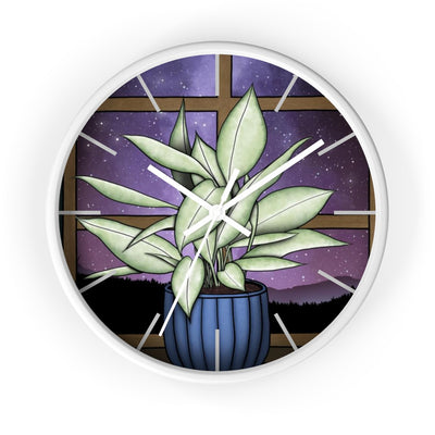 Houseplant Dreams Wall Clock