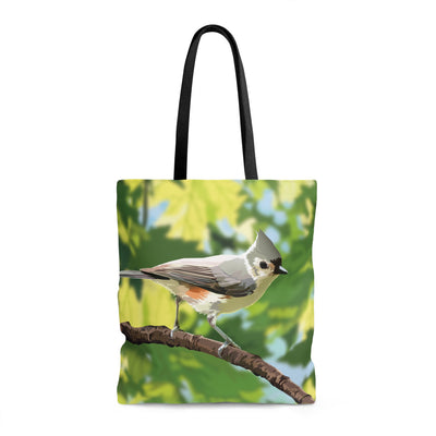 tufted titmouse bag
