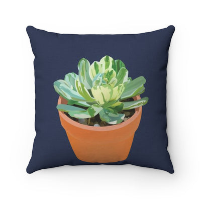 Succulent Throw Pillow :: Succulent #3