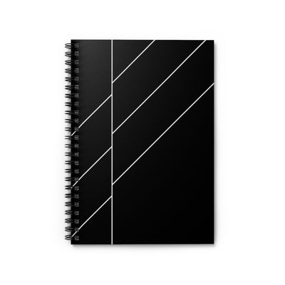 Black Space Spiral Notebook