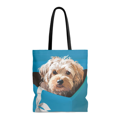 Cooper the dog Tote Bag