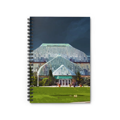 Lincoln Park Conservatory Spiral Notebook