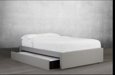 lit platform avec lit gigogne/platform bed with trundle