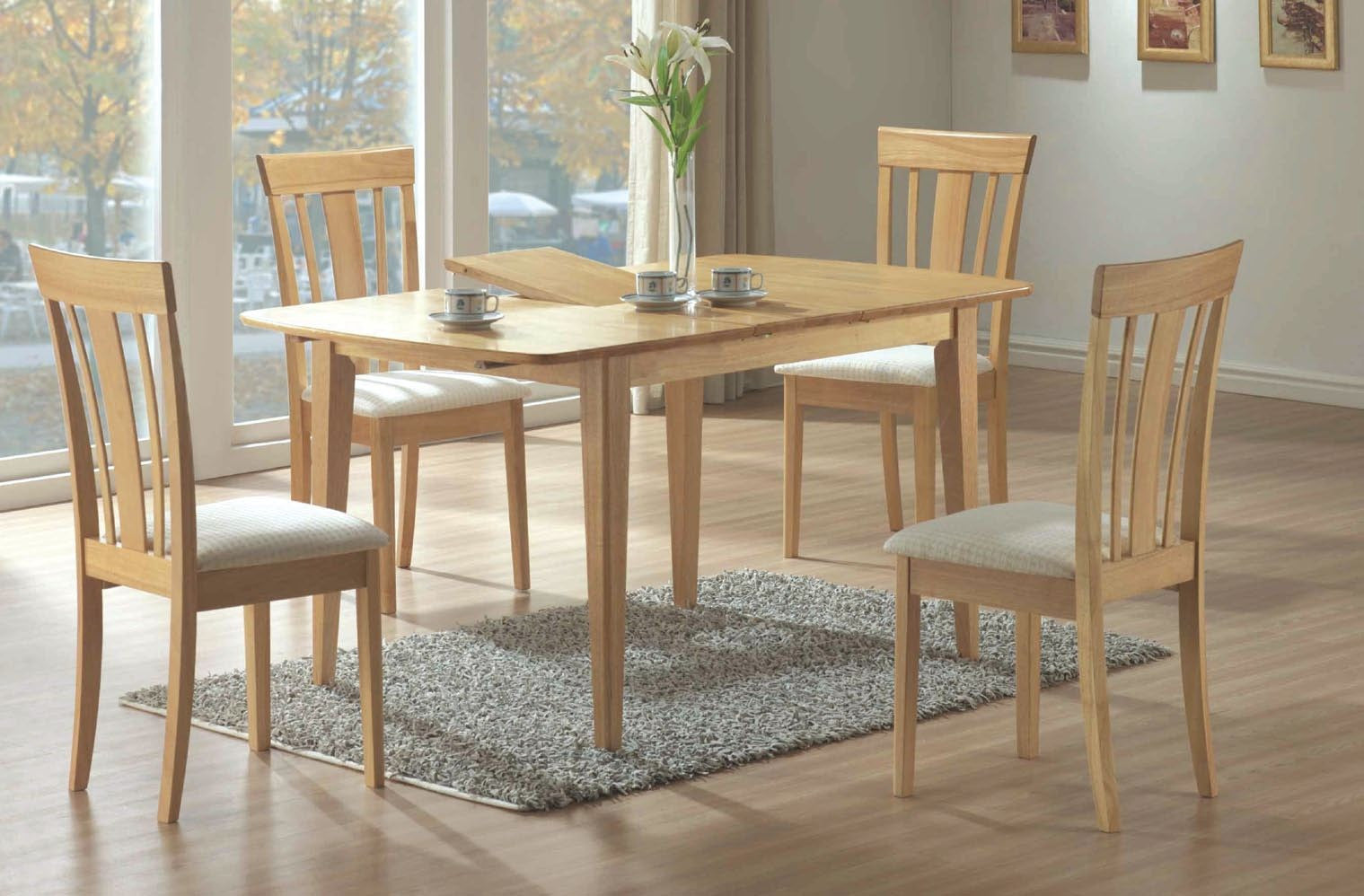 MAPLE 36X 60 DINING TABLE 12 BUTTERFLY LEAF TABLE A DINER 36X
