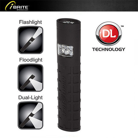 Dual-Switch Dual-Light™ Flashlight - Non-Rechargeable - iBriteStore - 1