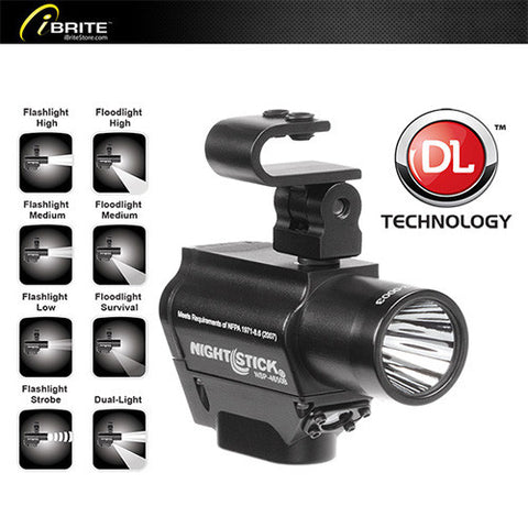 Helmet-mounted Multi-Function Dual-Light™ Flashlight - iBriteStore - 1