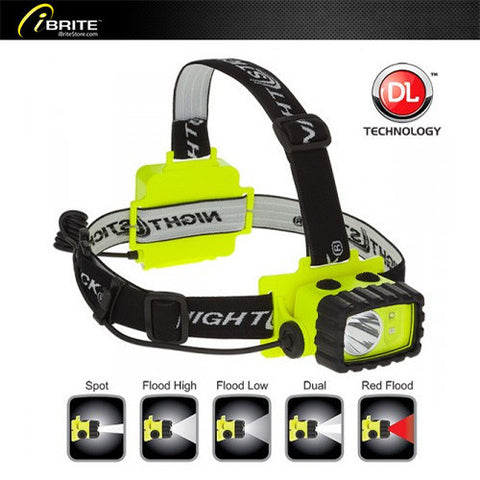 Intrinsically Safe Permissible Multi-Function Dual-Light™ Headlamp, XPP-5456G - iBriteStore - 1