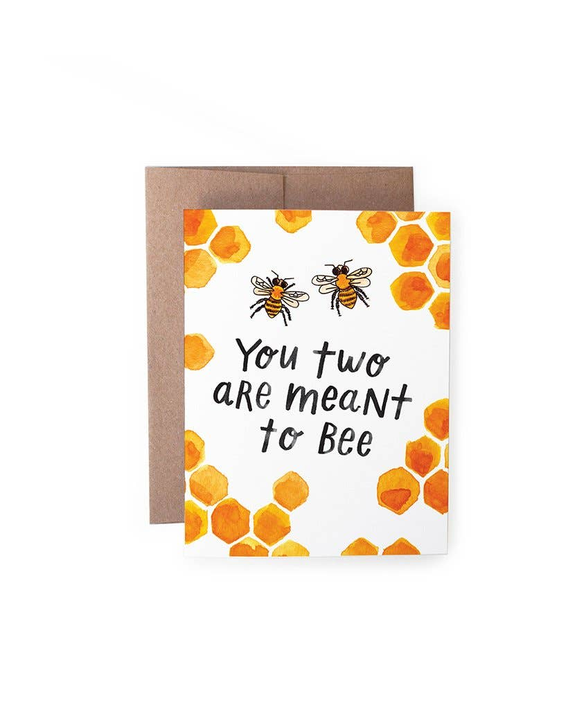 Meant to Bee Card - Lois Pearl Boutique