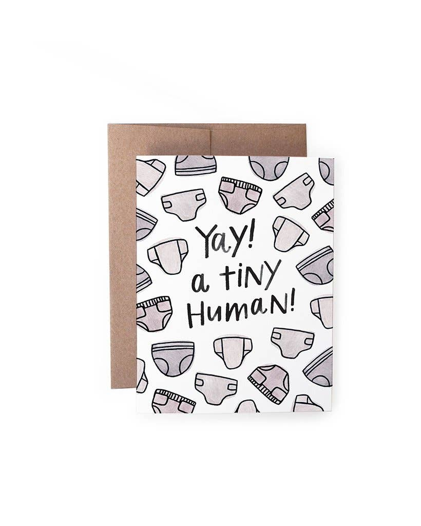 Yay Tiny Human Card - Lois Pearl Boutique