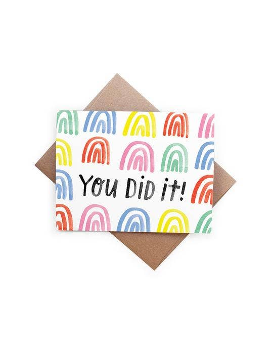 You Did It Card - Lois Pearl Boutique