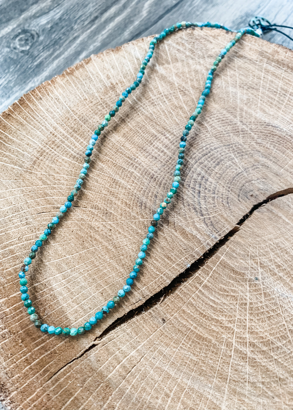 Dainty Choker African Turquoise
