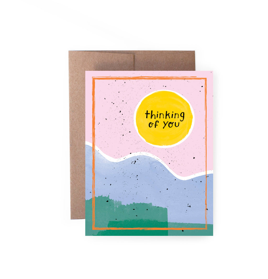 Thinking Of You Sun Card - Lois Pearl Boutique