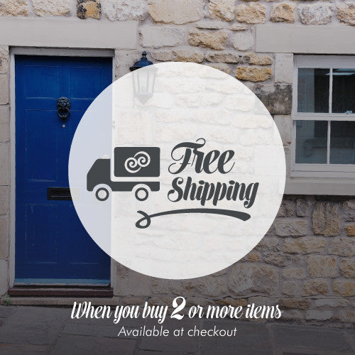 Offer Free Shipping when you buy 2 or more iteams