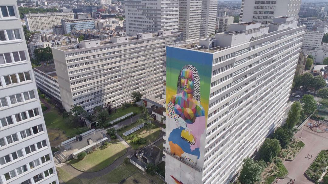 Okuda San Miguel Paris the new Gioconda